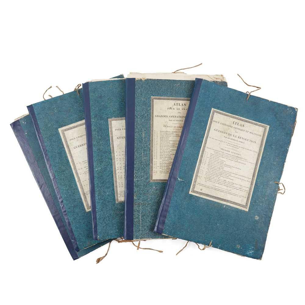 Jomini, Antoine, General Atlas pour l'histoire critique et militaire des Guerres de la Révolution [