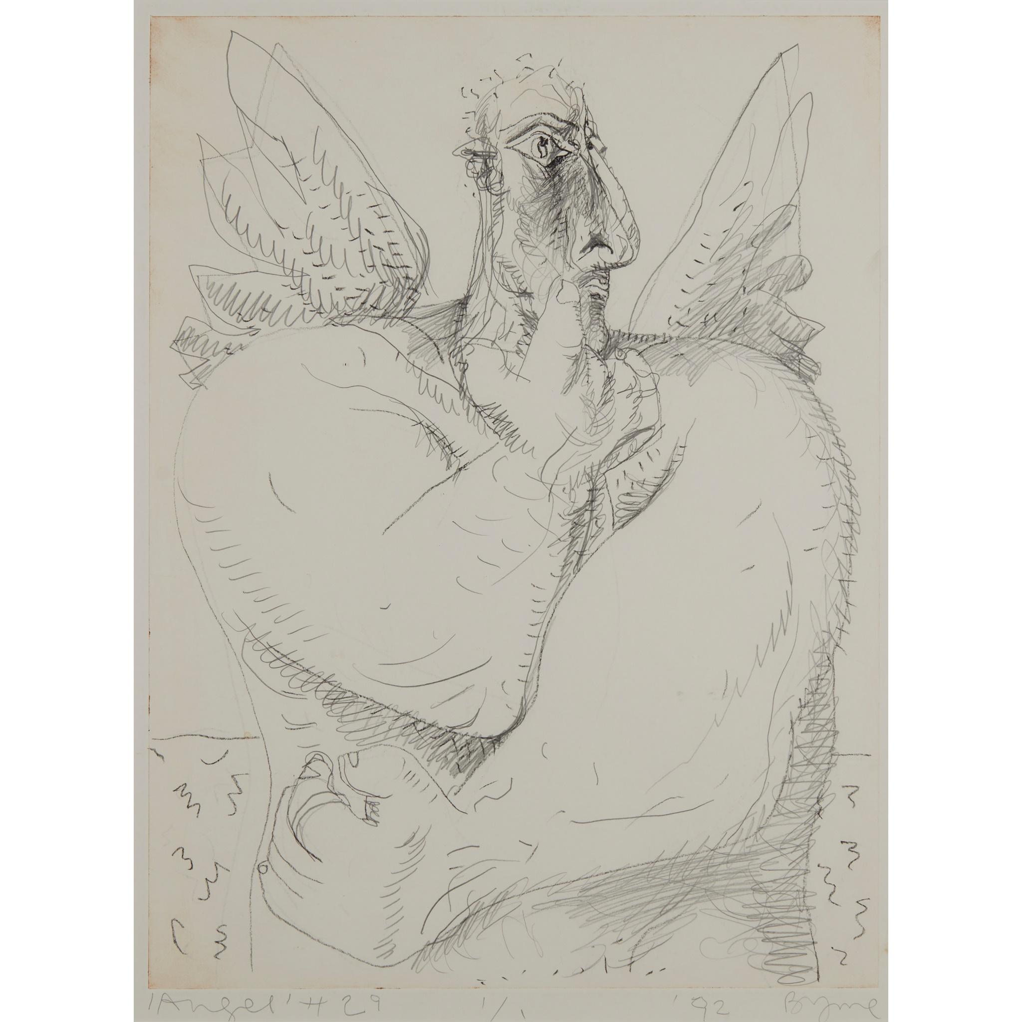 § JOHN BYRNE (SCOTTISH 1940-) 'ANGEL' #29