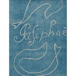 § ‡ HENRI MATISSE (FRENCH 1869-1954) FRONT COVER FROM 'PASIPHAE: CHANT DE MINOS (LES CRETOIS) -
