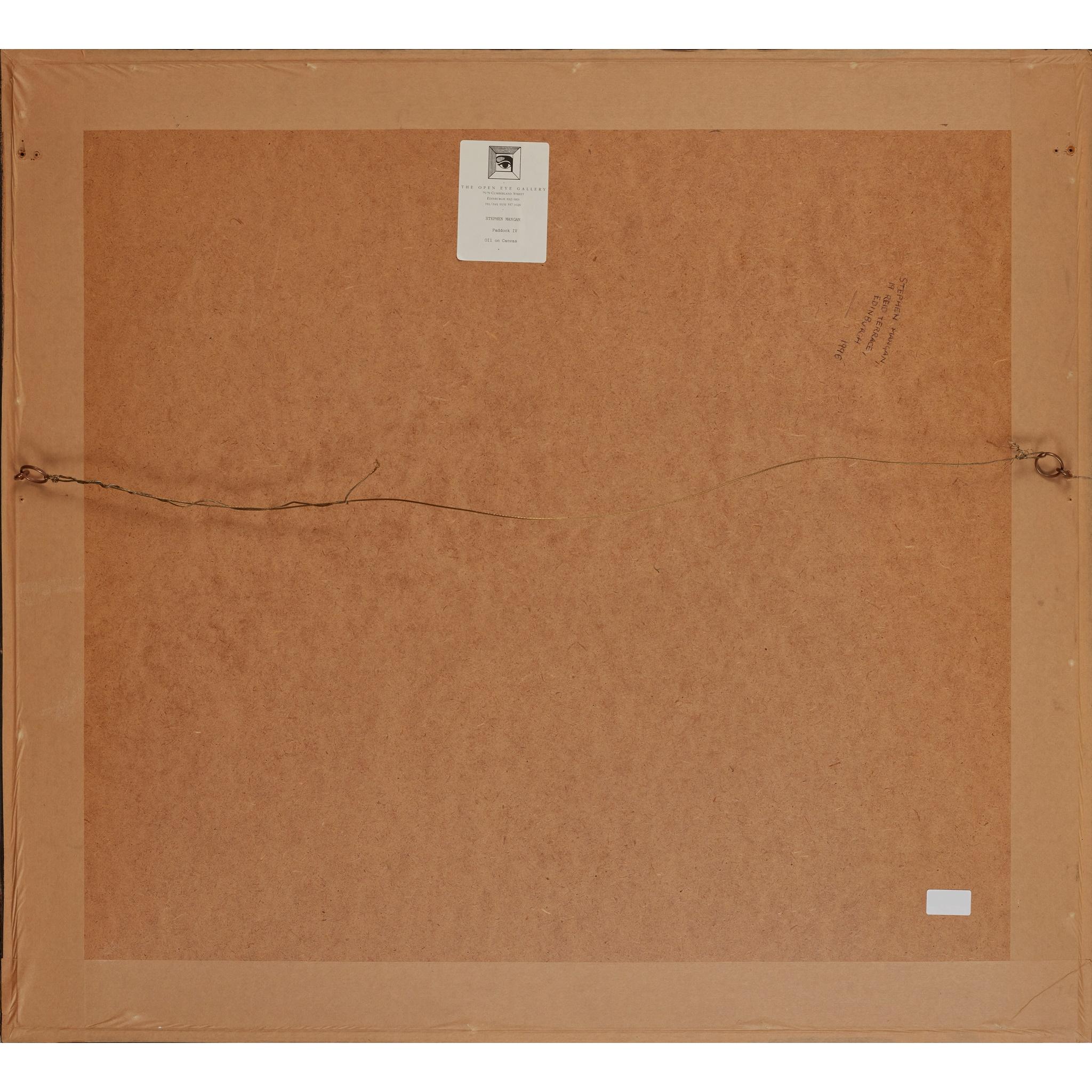 § STEPHEN MANGAN (SCOTTISH 1964-) PADDOCK IV - Image 3 of 3