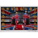 § GILBERT AND GEORGE (BRITISH CONTEMPORARY) FRIGIDARIUM - 2008