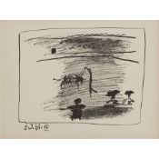 § ‡ PABLO PICASSO (SPANISH 1881-1973) LES BANDERILLES, 6.3.61 IV (FROM 'A LOS TOROS AVEC PICASSO')