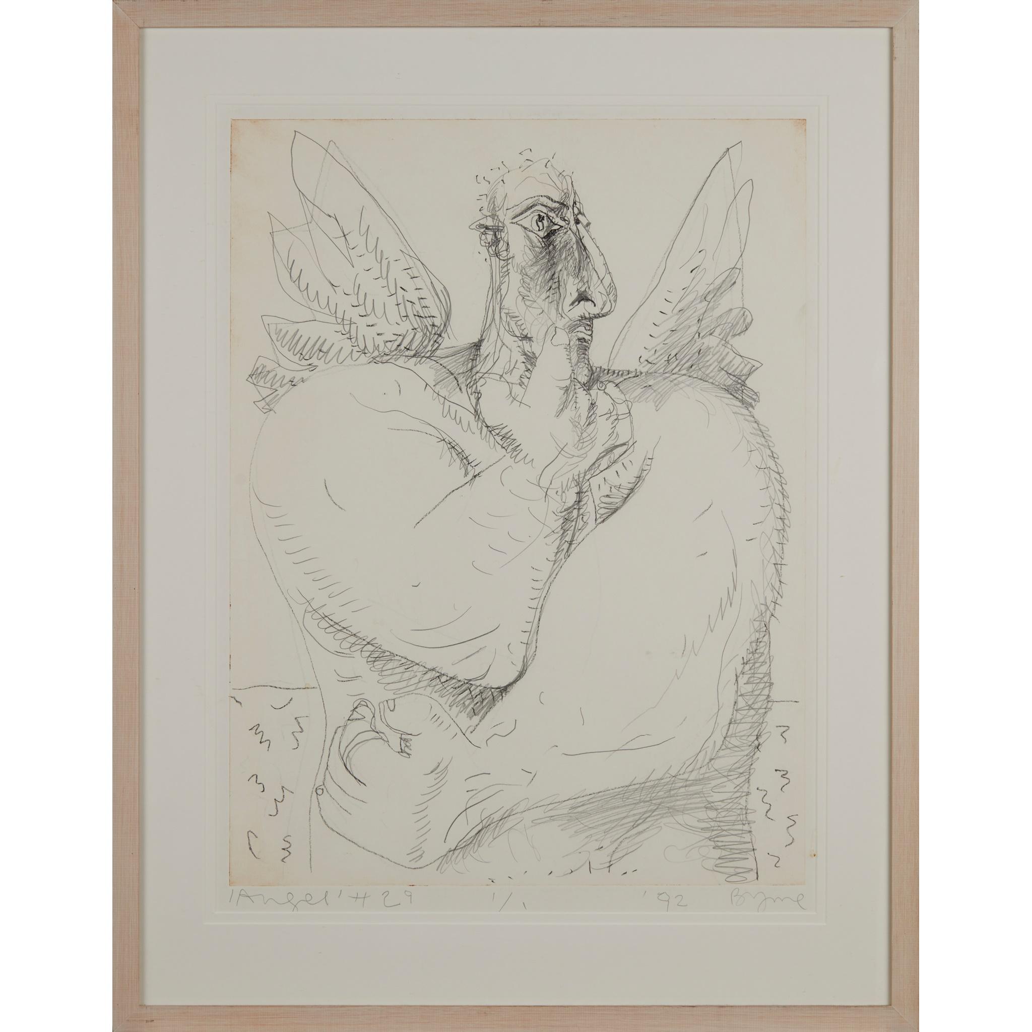 § JOHN BYRNE (SCOTTISH 1940-) 'ANGEL' #29 - Image 2 of 3
