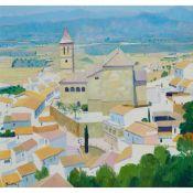 § JOHN EVERARD KINGSLEY (BRITISH 1956-) CHURCH OF SAN JUAN BAUTISTA, Vélez-Málaga