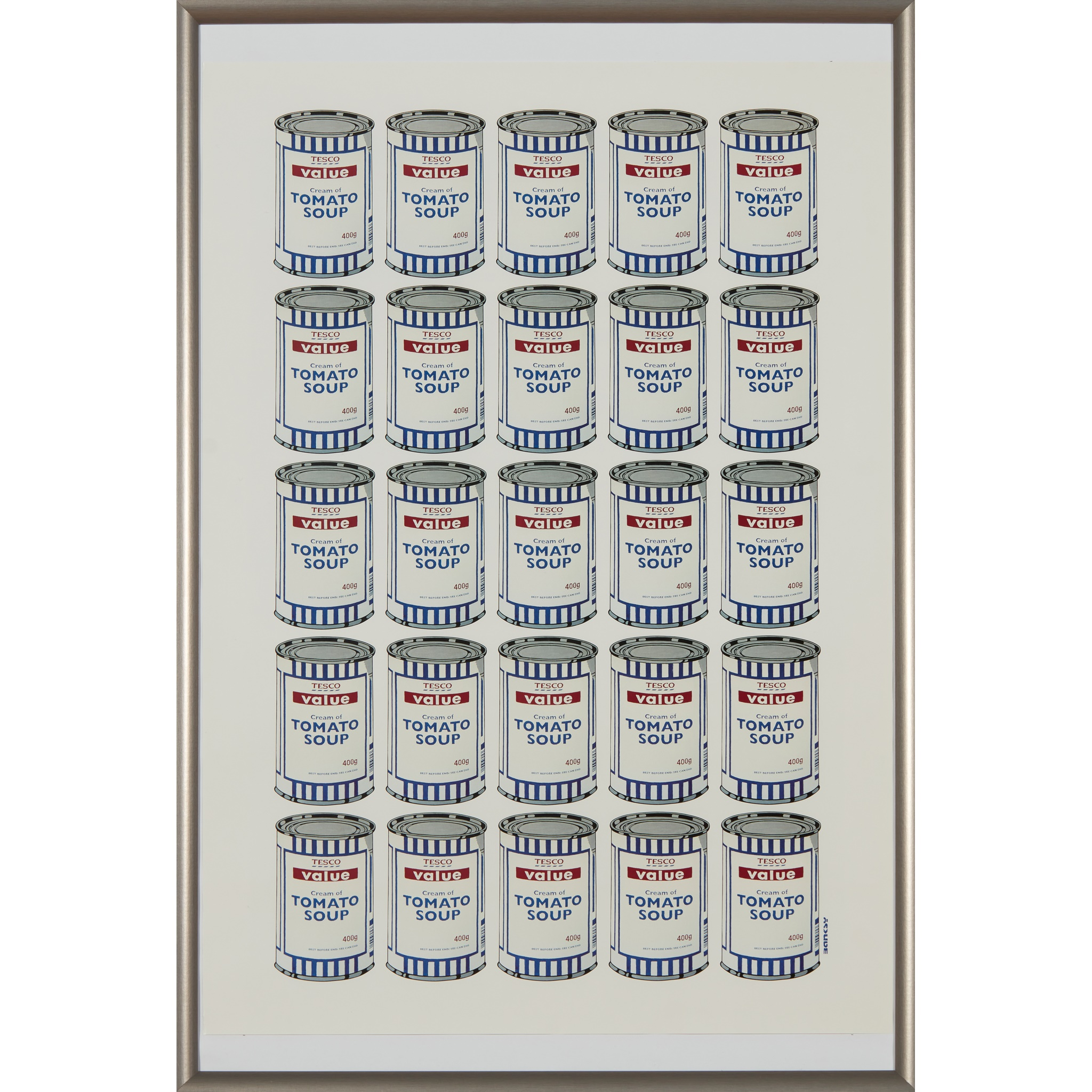 § BANKSY (BRITISH 1974-) SOUP CANS POSTER - 2006 - Image 2 of 3