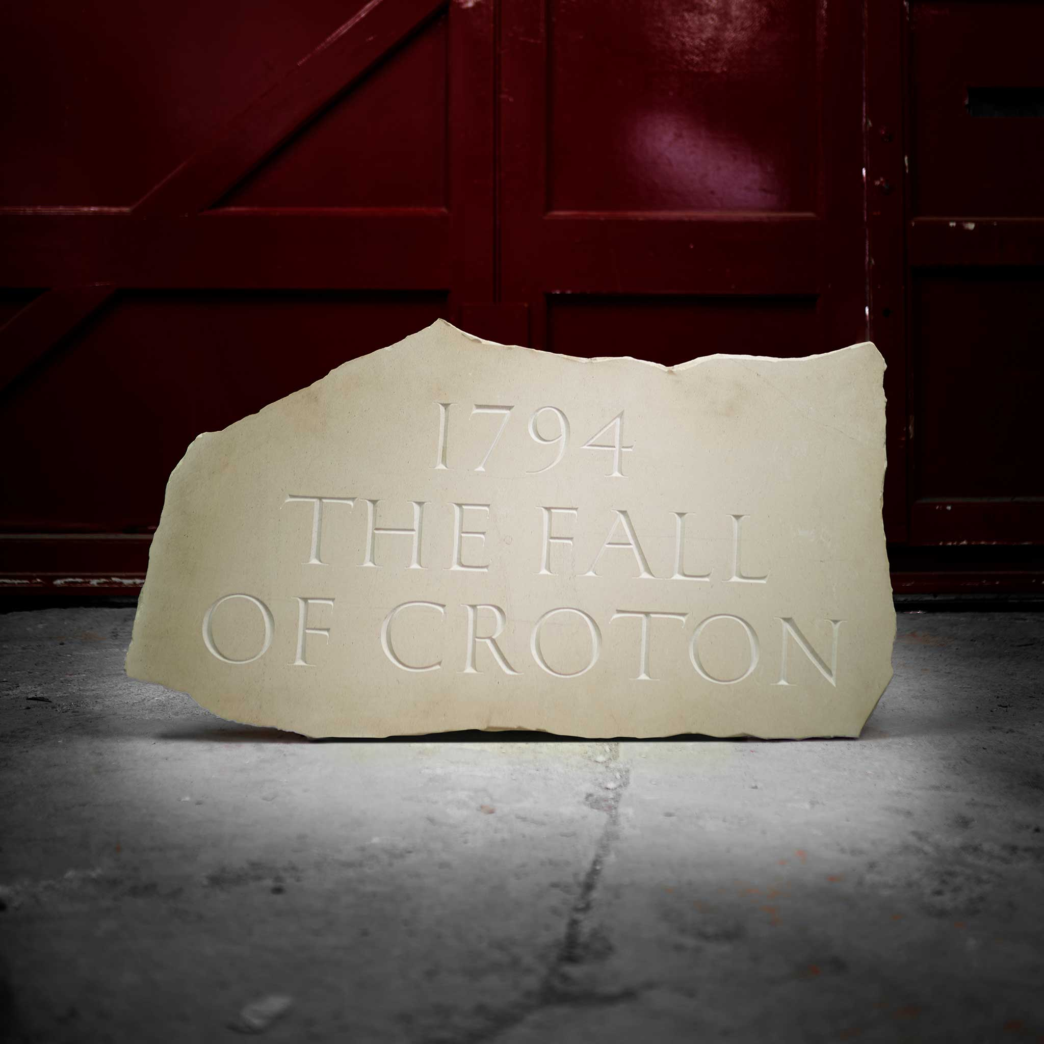 § IAN HAMILTON FINLAY (SCOTTISH 1925-2006) '1794 - THE FALL OF CROTON', 1994 - Image 3 of 3