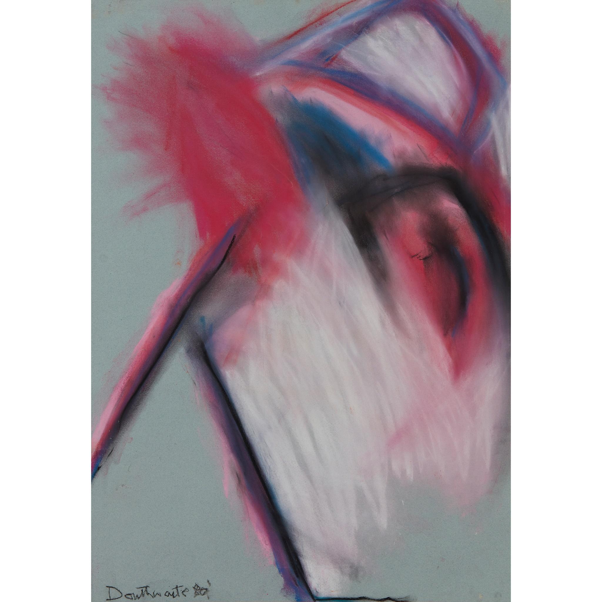 § PATRICIA DOUTHWAITE (SCOTTISH 1939-2002) UNTITLED (PINKS)