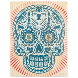 ERNESTO YERENA (MEXICAN-AMERICAN 1987-) AND SHEPHARD FAIREY (AMERICAN 1970-) POWER AND GLORY