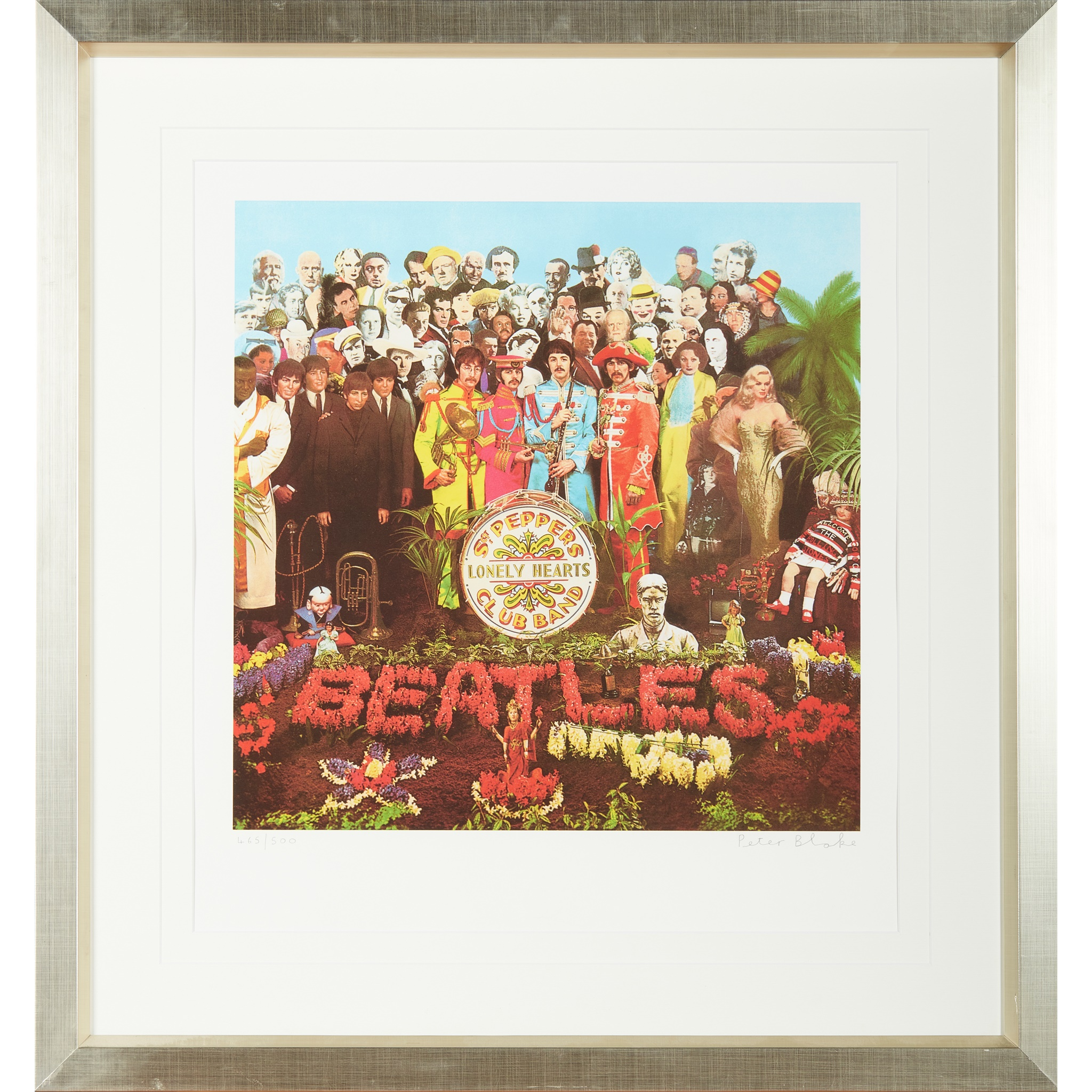 § SIR PETER BLAKE C.B.E., R.A. (BRITISH 1932-) SERGEANT PEPPER'S LONELY HEARTS CLUB BAND - 2007 - Image 2 of 3