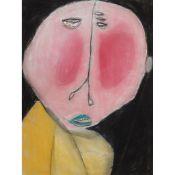 § PATRICIA DOUTHWAITE (SCOTTISH 1939-2002) EYE BAGS