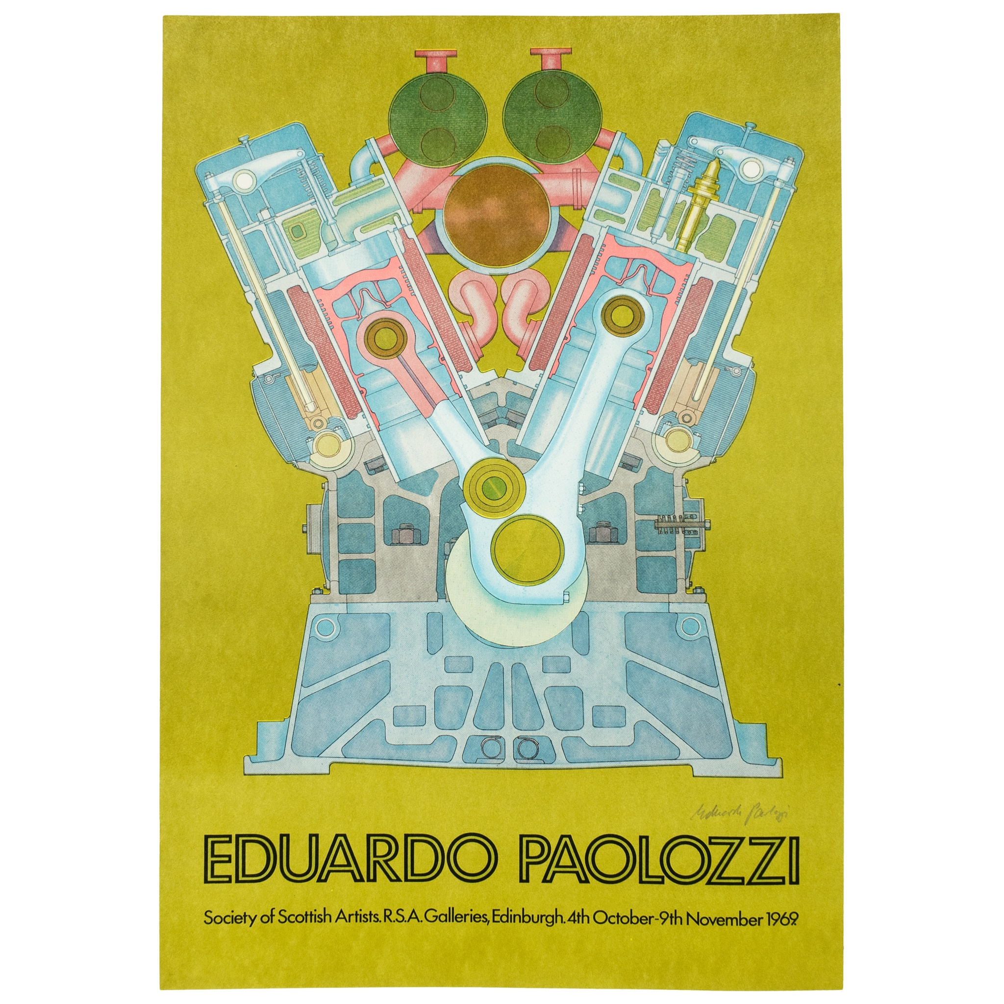 AFTER EDUARDO PAOLOZZI (SCOTTISH 1924-2005) SOCIETY OF SCOTTISH ARTISTS