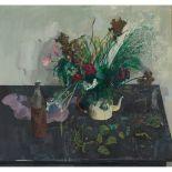 § LEON MORROCCO A.R.S.A (SCOTTISH 1942-) FLOWERS, 1969