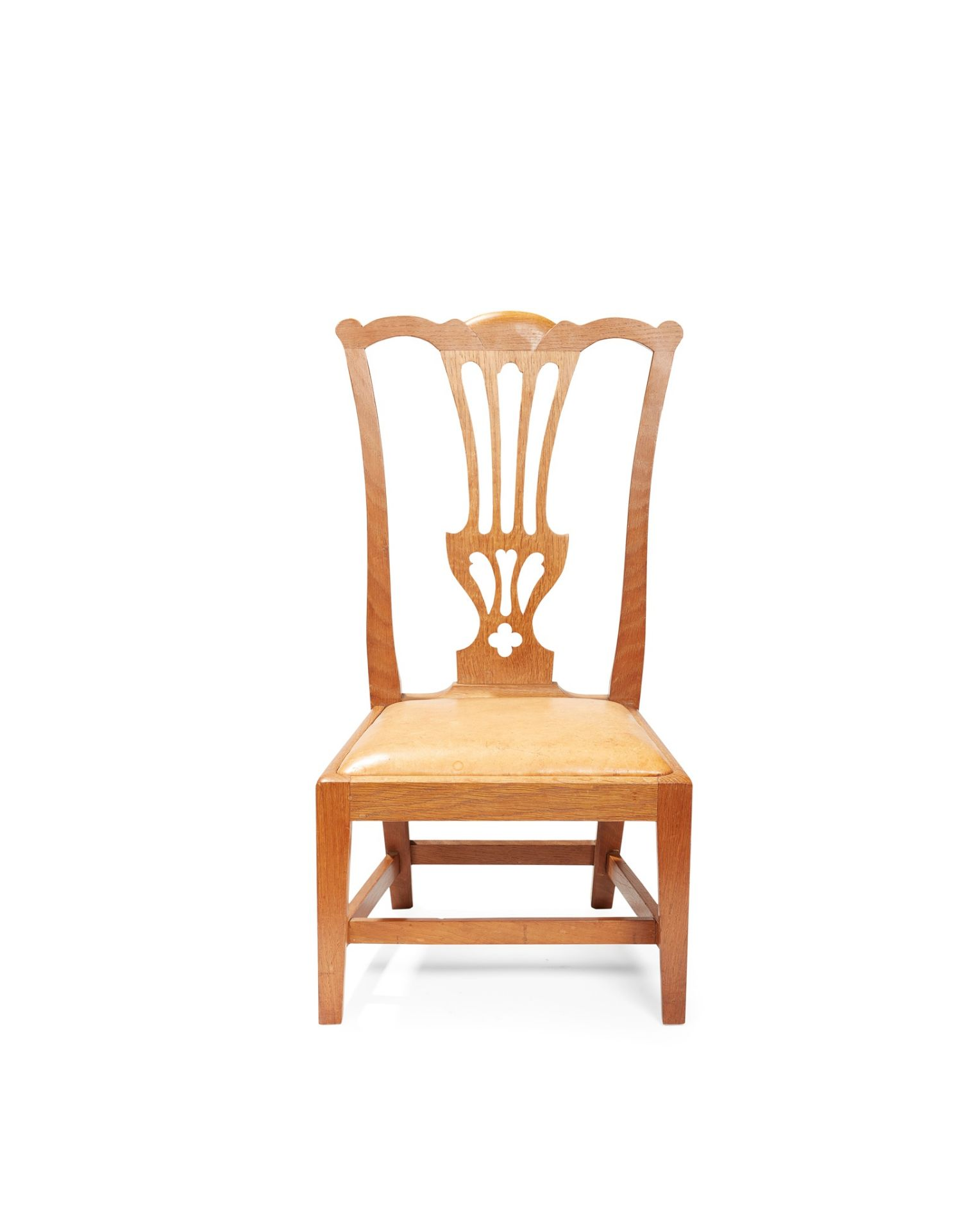 A SCOTTISH 'GOSSIP' CHAIR BY WHEELER OF ARNCROACH CIRCA 1920 - Image 2 of 2
