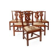 A SET OF SIX DINING CHAIRS BY WHEELER OF ARNCROACH EARLY 20TH CENTURY