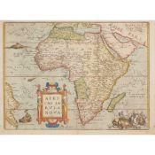 [Map of Africa] Ortelius, Abraham Africae Tabula Nova