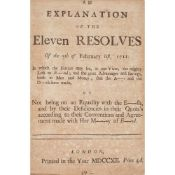 Politics, 1689-1712: a collection of 16 pamphlets in one volume comprising
