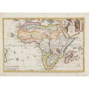 A collection of African Maps including Münster, Sebastian
