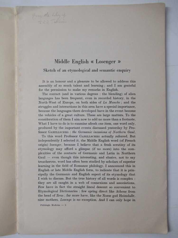 Tolkien, J.R.R. 6 volumes, comprising - Image 7 of 9
