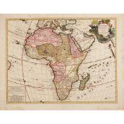 [Map of Africa] De Lisle, Guillaume L'Afrique Dressée par les Observations de Mrs de l'Acadamie Roya