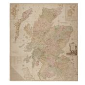Ainslie, John Scotland, Drawn and Engrav'd from a Series of Angles and Astronomical Observations