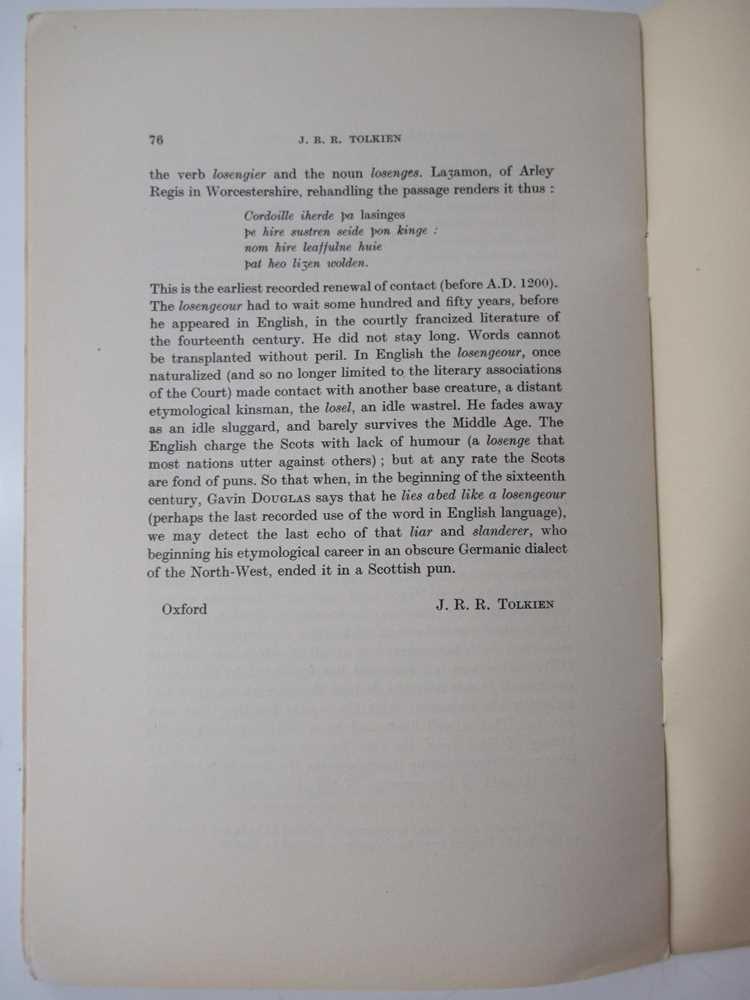Tolkien, J.R.R. 6 volumes, comprising - Image 4 of 9
