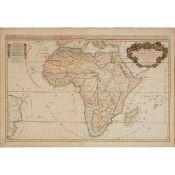 [Map of Africa] Jaillot, H., after Sanson L'Afrique divisée suivant l'estendue de ses principales pa