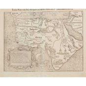 [Map of Africa] Münster, Sebastian Totius Africae tabula & descriptio universalis