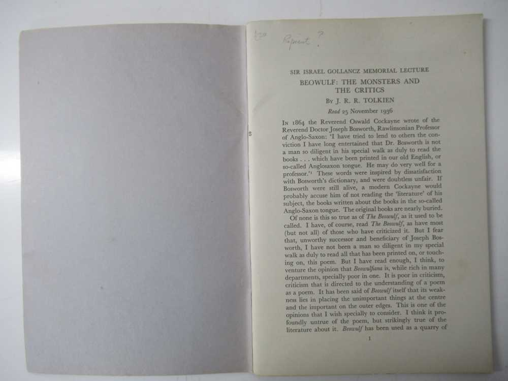 Tolkien, J.R.R. 6 volumes, comprising - Image 8 of 9