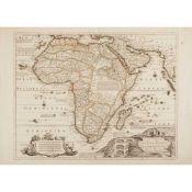 [Map of Africa] Fer, Nicolas de L'Afrique Dressée selon les derniers Relations et Suivant les Nouvel