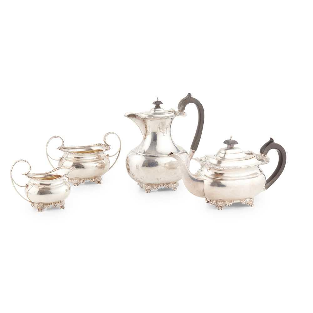 A 1920s four-piece tea service