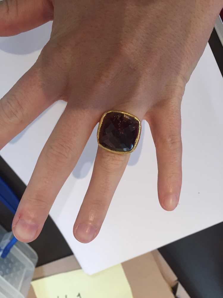 A tourmaline cocktail ring - Image 10 of 10