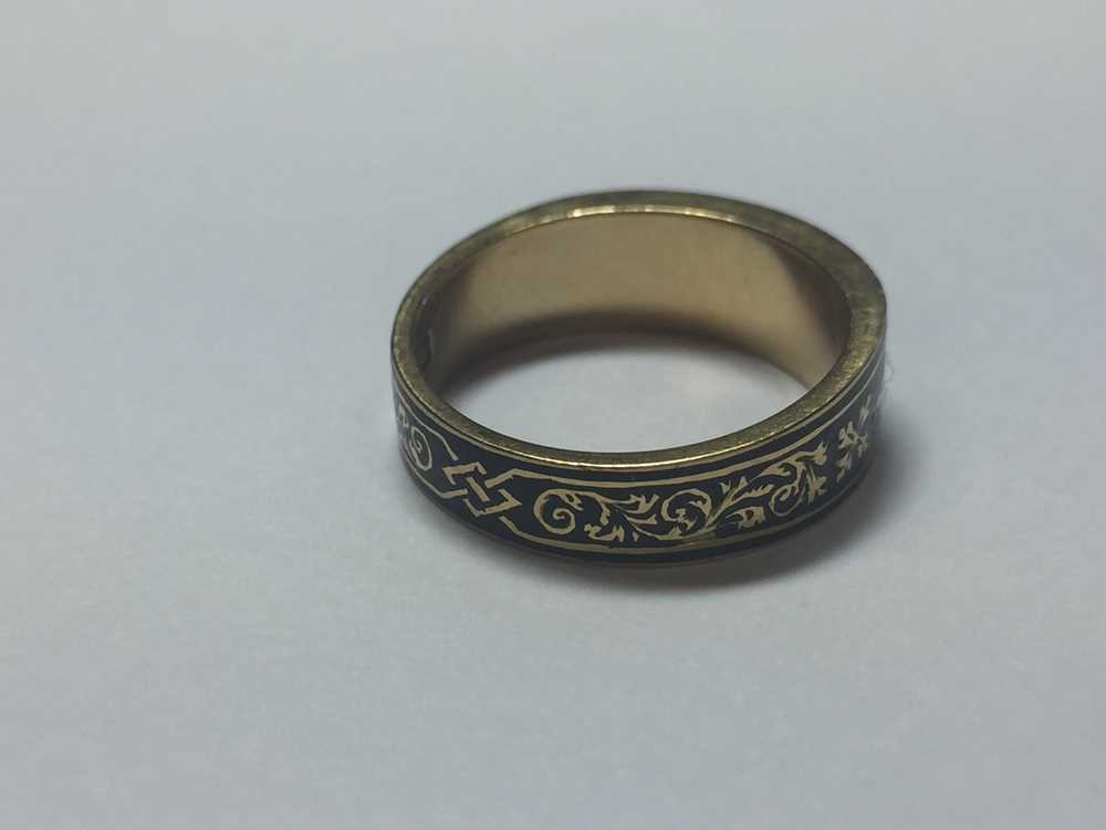 A Victorian mourning ring - Image 3 of 5
