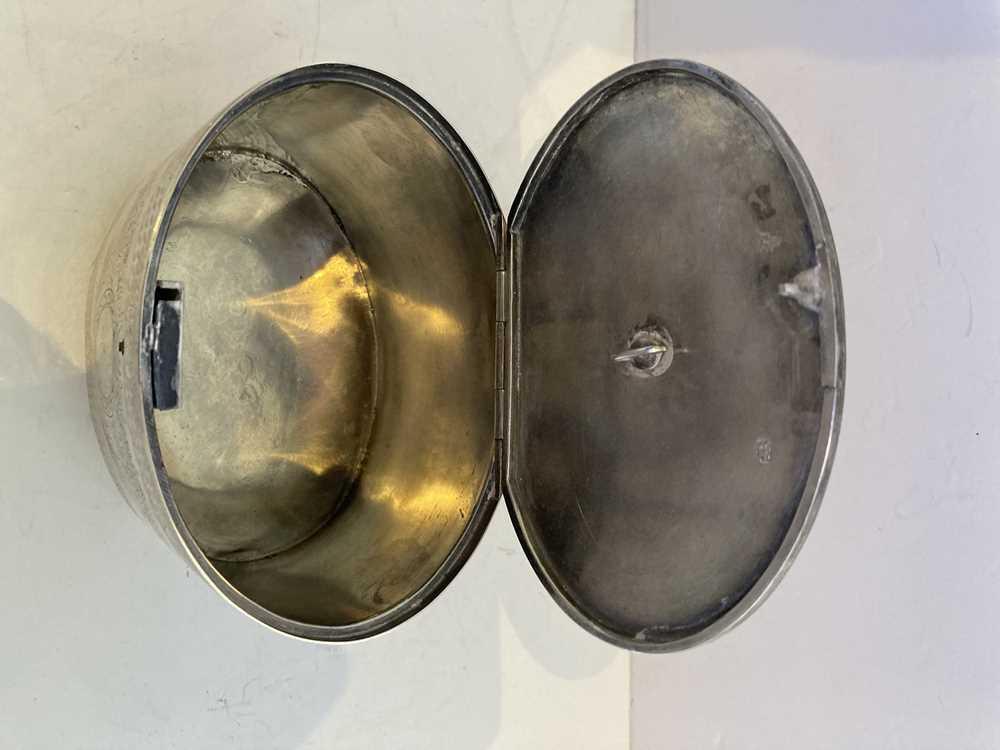 A George III oval tea caddy - Image 3 of 11