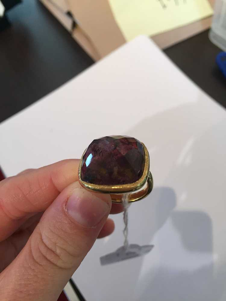 A tourmaline cocktail ring - Image 5 of 10