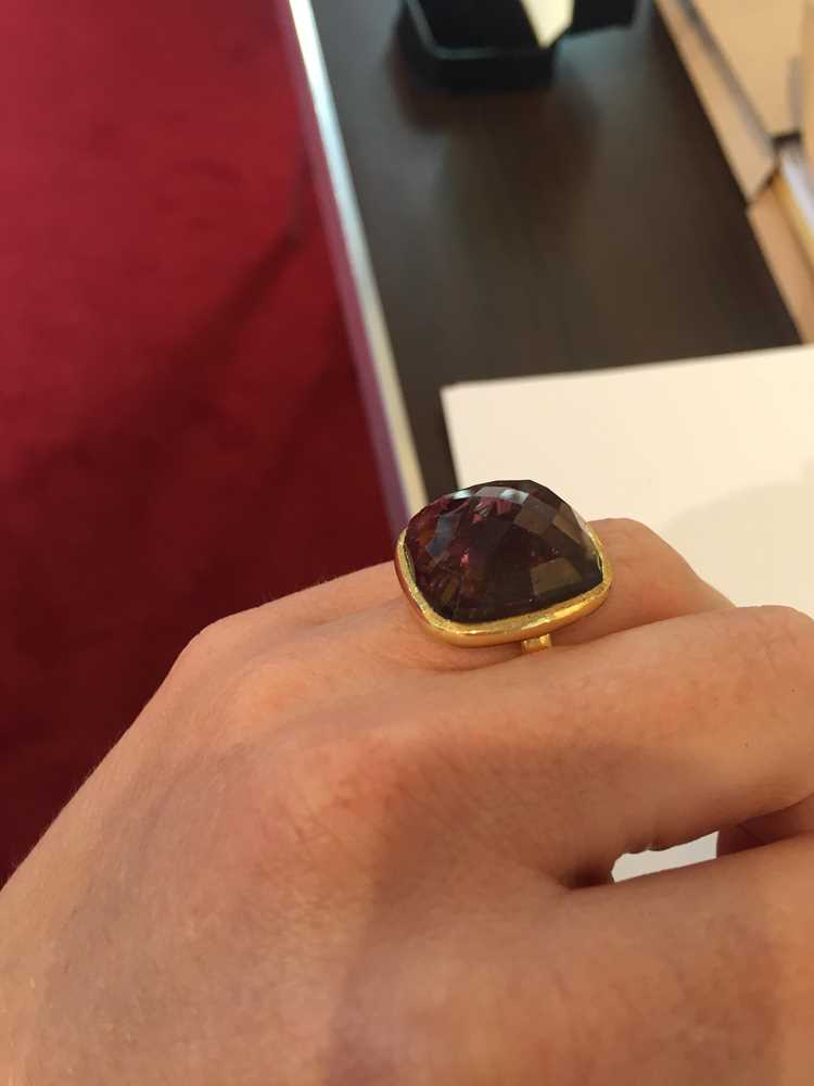 A tourmaline cocktail ring - Image 9 of 10