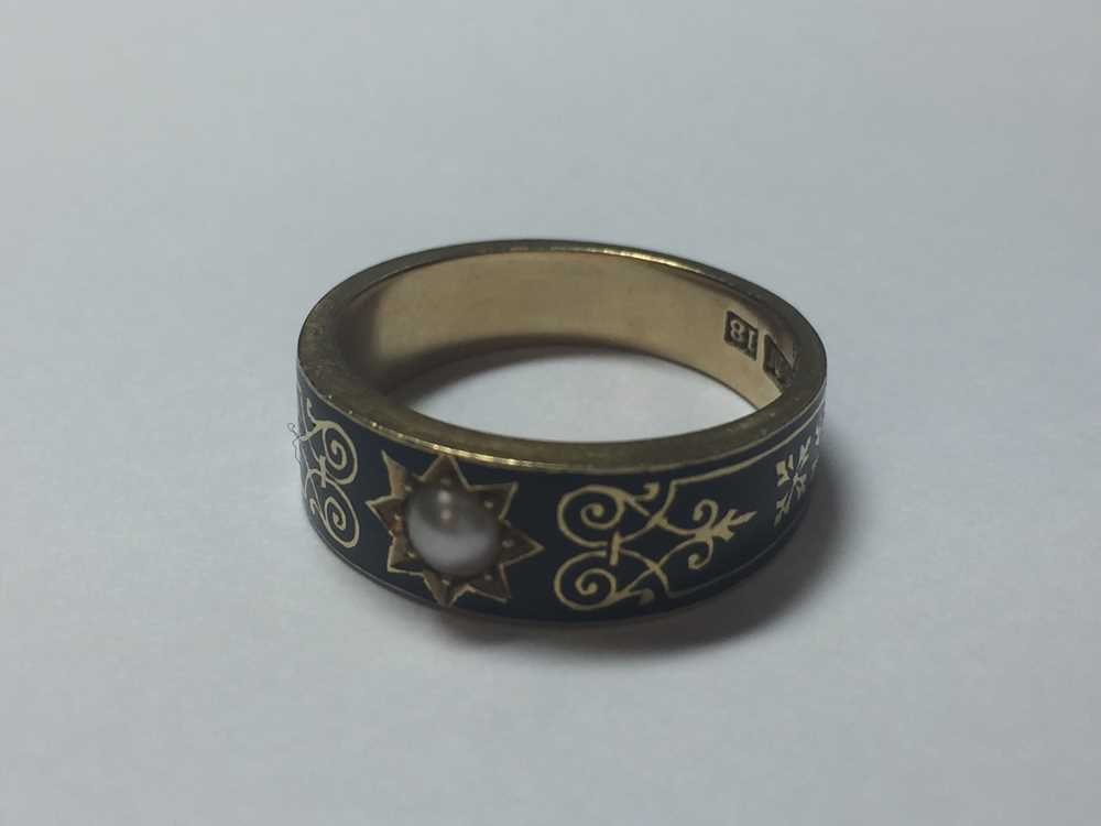 A Victorian mourning ring - Image 5 of 5