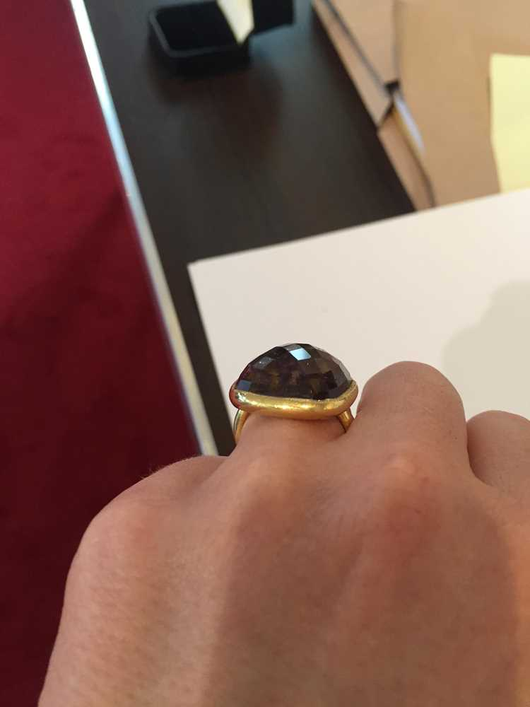 A tourmaline cocktail ring - Image 6 of 10