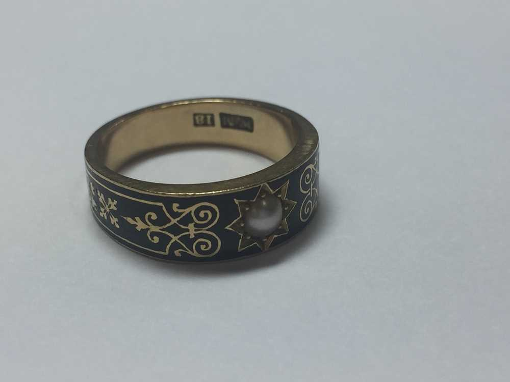 A Victorian mourning ring - Image 4 of 5