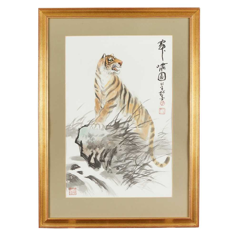 CHEN YANNING (CHINESE 1945-) ROARING TIGER