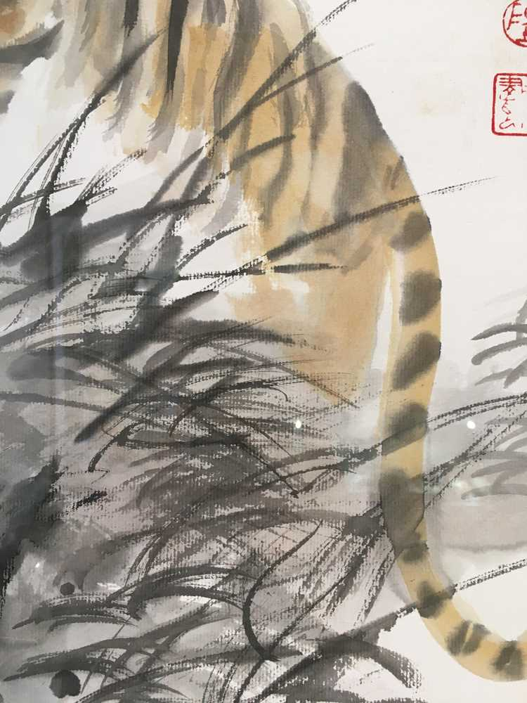 CHEN YANNING (CHINESE 1945-) ROARING TIGER - Image 7 of 12