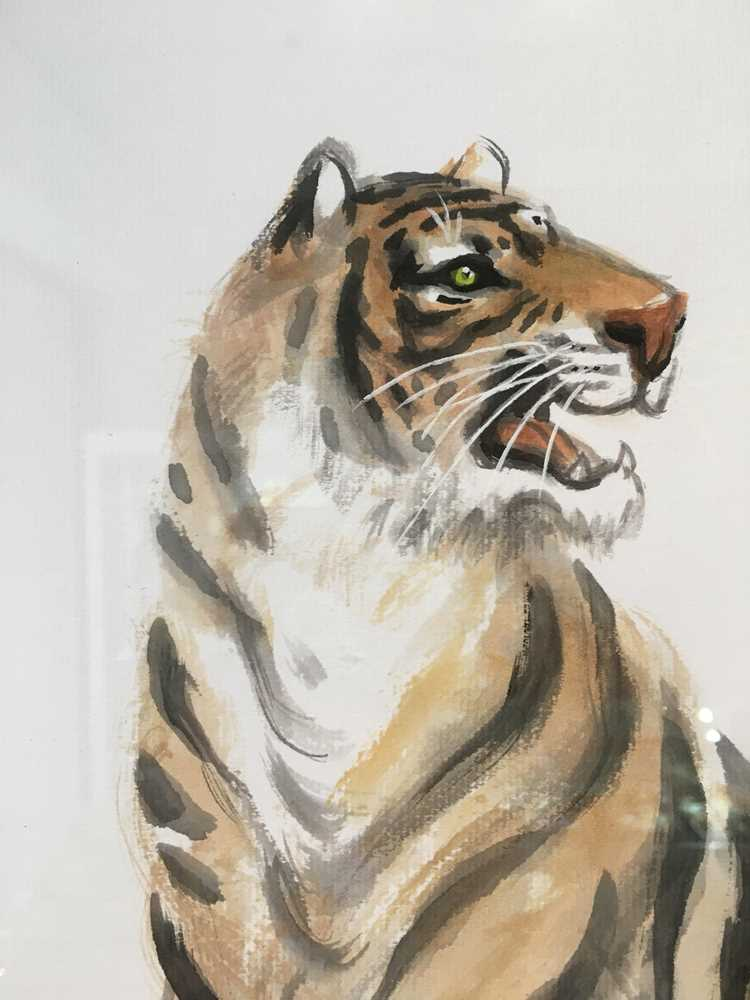 CHEN YANNING (CHINESE 1945-) ROARING TIGER - Image 6 of 12