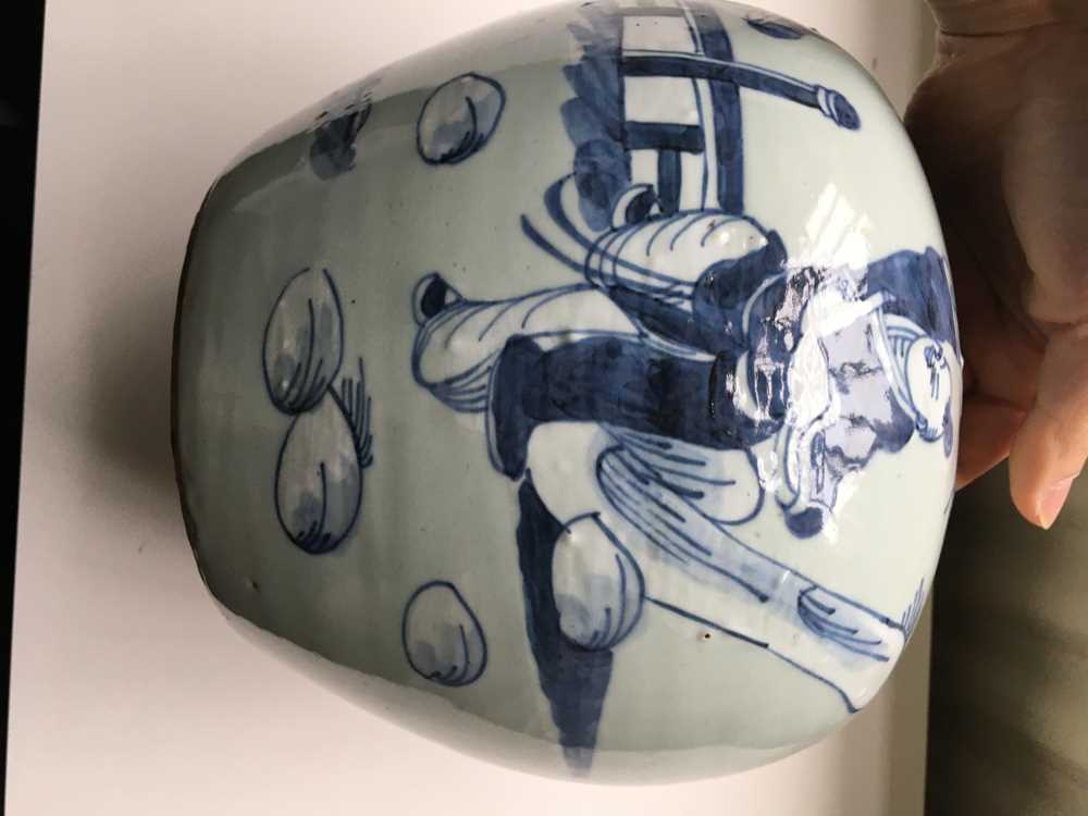 GROUP OF FIVE BLUE AND WHITE WARES - Image 13 of 42