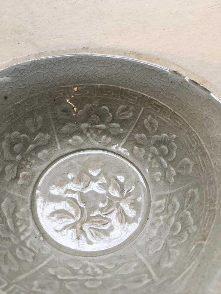QINGBAI TEA BOWL SONG DYNASTY - Image 5 of 13