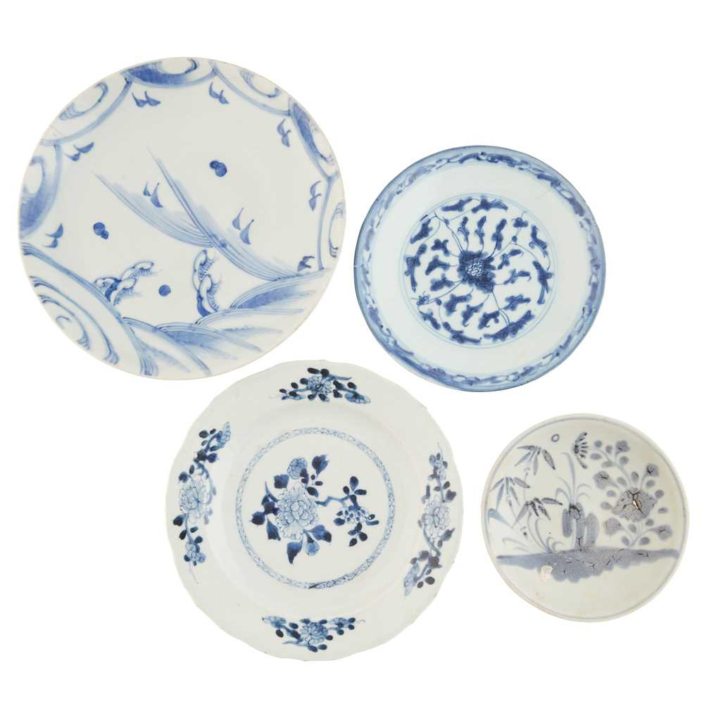 GROUP OF FIVE BLUE AND WHITE WARES - Image 3 of 42