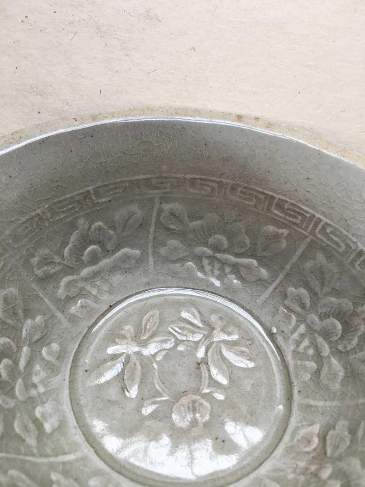 QINGBAI TEA BOWL SONG DYNASTY - Image 4 of 13