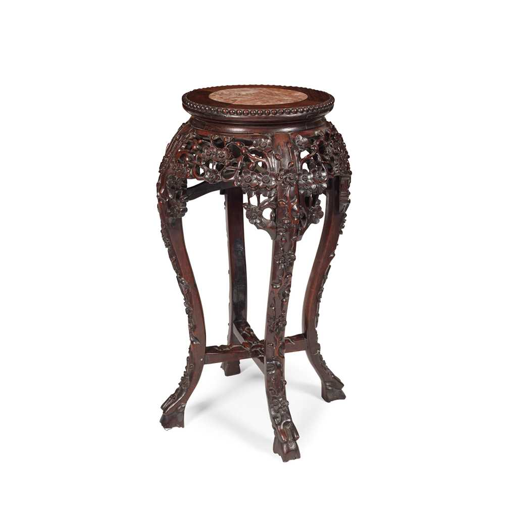 HARDWOOD JARDINIÈRE STAND LATE QING DYNASTY-REPUBLIC PERIOD, 19TH-20TH CENTURY