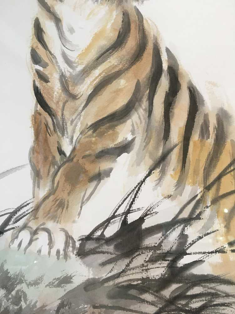 CHEN YANNING (CHINESE 1945-) ROARING TIGER - Image 8 of 12