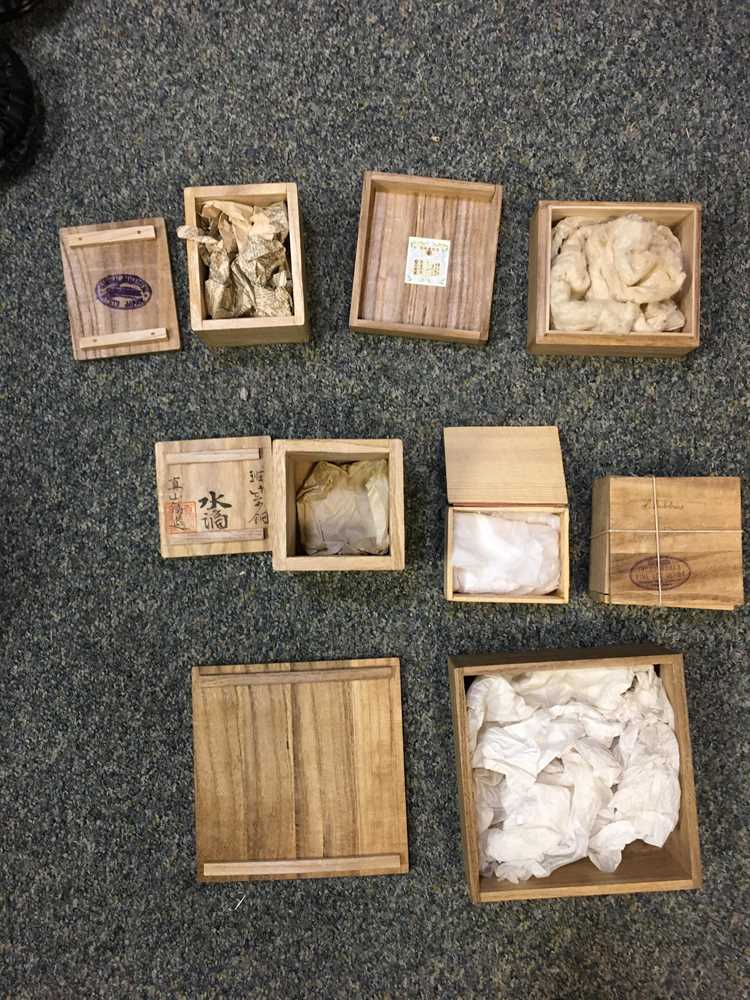 GROUP OF WOODEN STANDS - Image 15 of 20