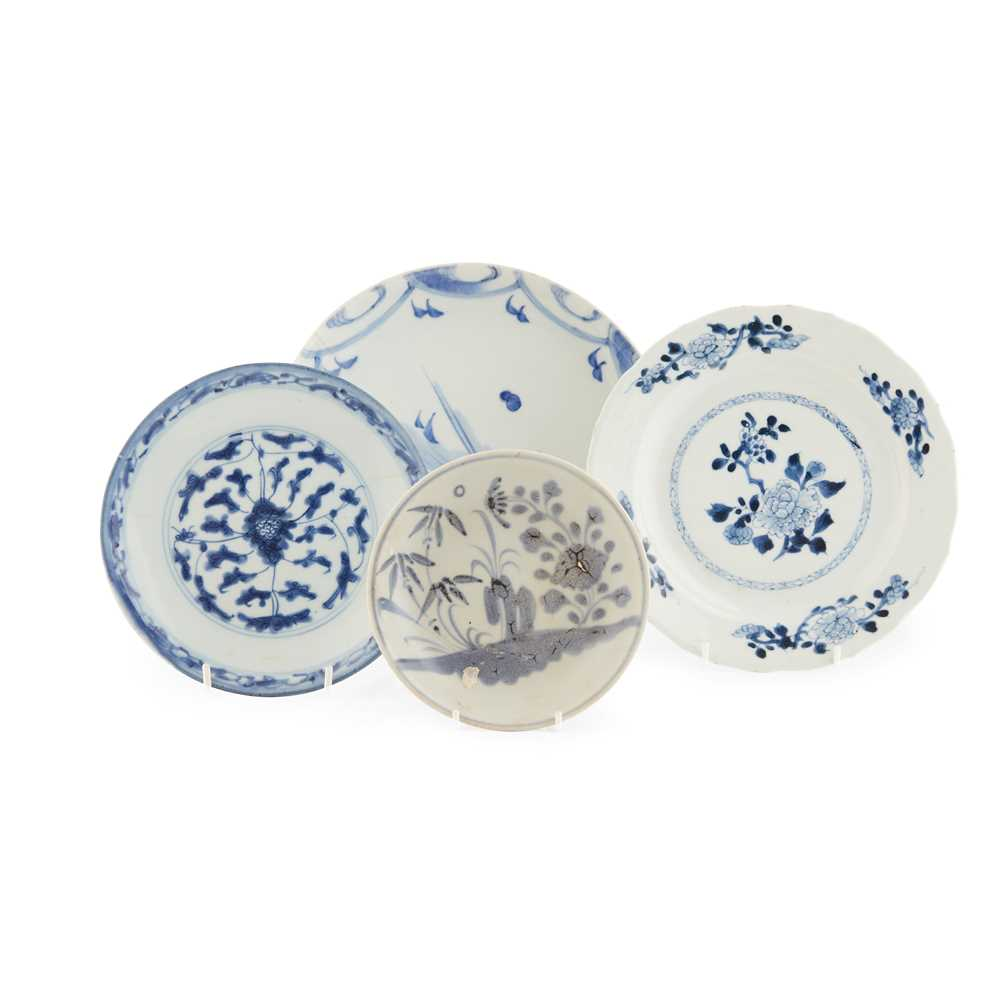 GROUP OF FIVE BLUE AND WHITE WARES - Image 2 of 42