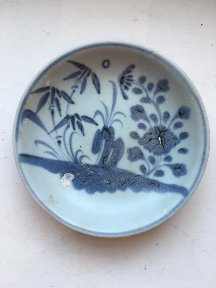 GROUP OF FIVE BLUE AND WHITE WARES - Image 28 of 42